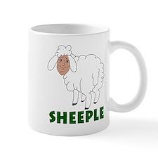 Sheeple part sheep part human Mug