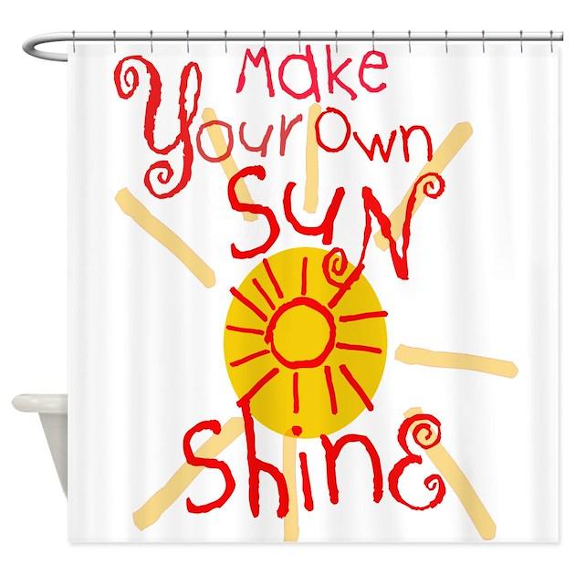 Make Your Own Sun Shine Shower Curtain By Spiritartsboutique