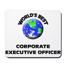 World's Best Corporate Executive Officer Mousepad