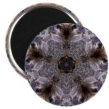 "Groundhog Mandala 2.25"" Magnet (100 pack)"