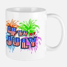 Fourth Of July Fireworks Mug
