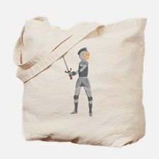 Armored Knight Tote Bag