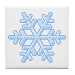 Flurry Snowflake XVIII Tile Coaster