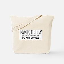 Black Friday Tote Bag
