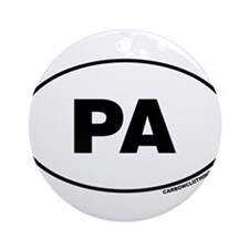 Pennsylvania, PA Ornament (Round)