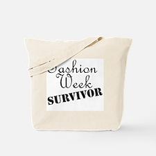 Fashion Week Survivor Tote Bag