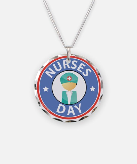 Nurses Day Necklace Circle Charm