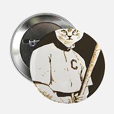 """Baseball Cat 2.25"""" Button"""