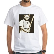 Baseball Cat T-Shirt