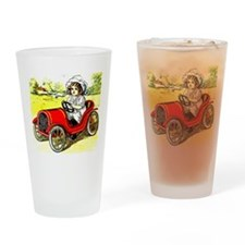 Dolly Drive Drinking Glass