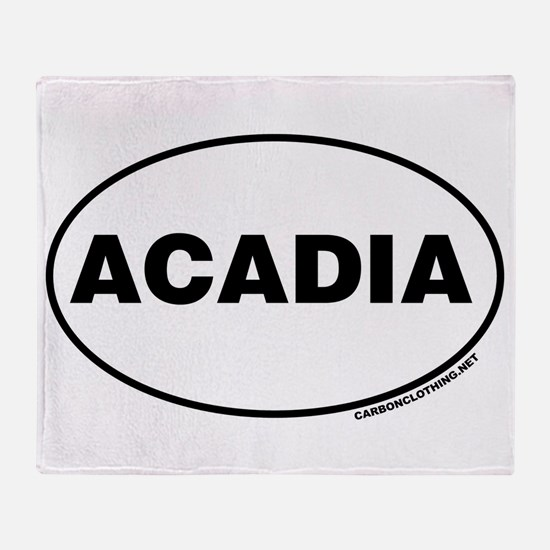 Acadia National Park, Acadia, Throw Blanket
