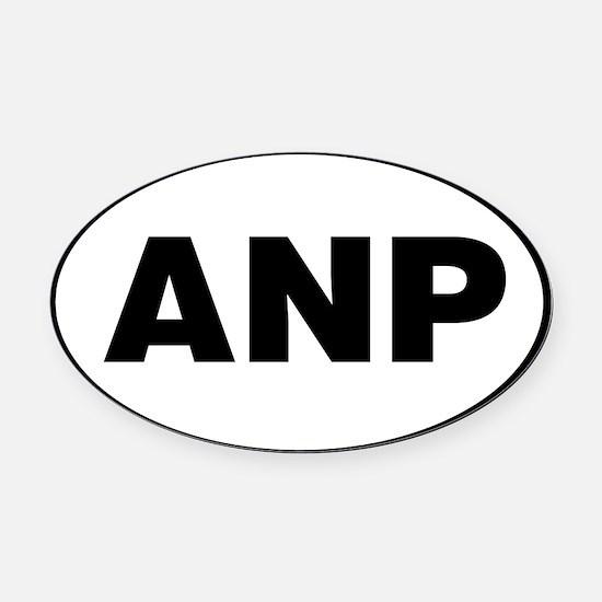 Acadia National Park, ANP Oval Car Magnet