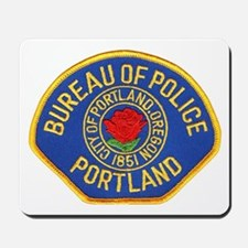 Portland Police Mousepad