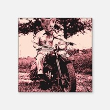 Motorcycle Cat Sticker