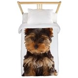 Yorkie Twin Duvet Covers