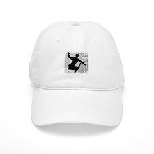 Snowboarding (Silver) Baseball Cap
