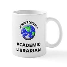 World's Coolest Academic Librarian Mug
