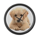 Golden retriever Giant Clocks