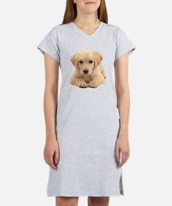 Golden Retriever Women's Nightshirt
