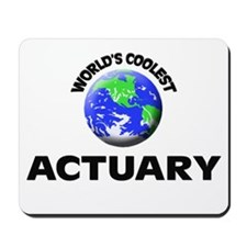 World's Coolest Actuary Mousepad