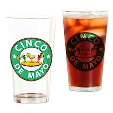 Cinco de Mayo Drinking Glass