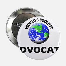 "World's Coolest Advocate 2.25"" Button"
