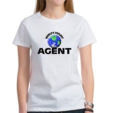 World's Coolest Agent T-Shirt