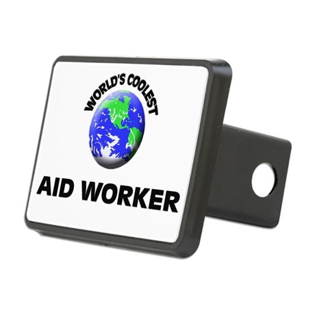 World's Coolest Aid Worker Hitch Cover
