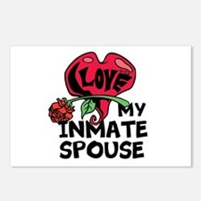 I love My Inmate Spouse Postcards (Package of 8)
