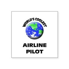 World's Coolest Airline Pilot Sticker