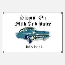 Sippin on Milk And Juice, Laid Back Banner