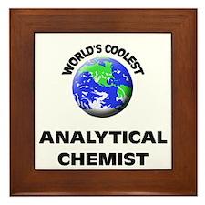 World's Coolest Analytical Chemist Framed Tile