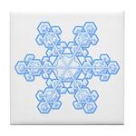 Flurry Snowflake XVII Tile Coaster