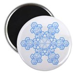 "Flurry Snowflake XVII 2.25"" Magnet (10 pack)"