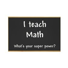 I teach Math Rectangle Magnet (10 pack)
