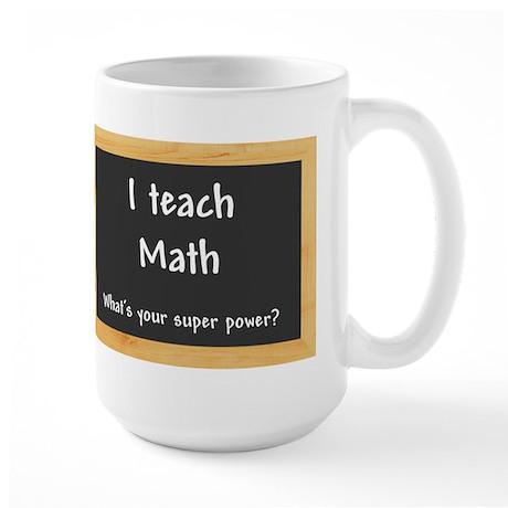 I teach Math Mug