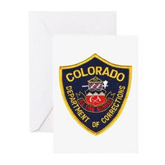 Colorado Corrections Greeting Cards (Pk of 10)