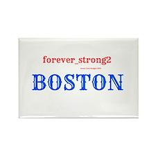 Boston Forever Strong Rectangle Magnet