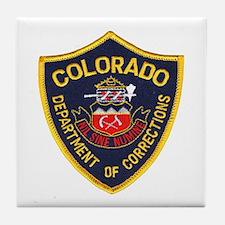 Colorado Corrections Tile Coaster