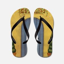 StephanieAM Blue Door Flip Flops