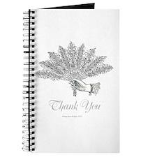 Victorian Fan Thank You Journal