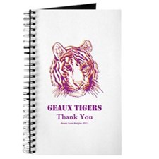Geaux Tigers Thank You Journal