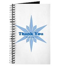 Blue Star Thank You Journal