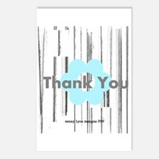 Sky Daisy Thank You Postcards (Package of 8)