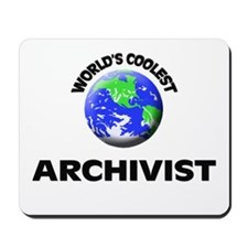World's Coolest Archivist Mousepad