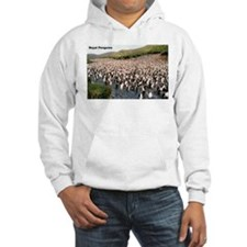 Royal Penguins (Front) Hoodie