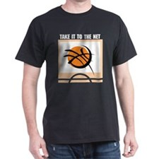 Basketball Take It To The Net T-Shirt