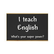 I teach English Rectangle Magnet (10 pack)