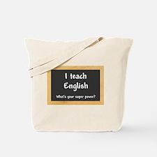 I teach English Tote Bag