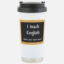 I teach English Travel Mug